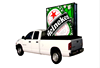 P10 P14 Outdoor Mobile Trailer Led Led Display Sign / p5 p6 module Led Car Advertising Signs