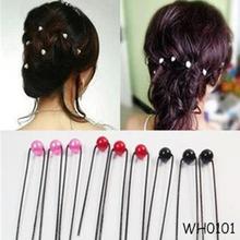 Fashion Bridal Pearl Cheap Wholesale Hair Accessories U-shaped clip hair fork