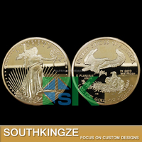 Gold plated coins American double eagle 2011 replica coins for sale