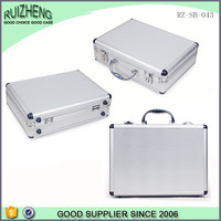 Professional Custom Silver Handle Aluminum Briefcase Laptop Case