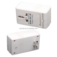 New High Quality White Professional 220V To 110V Step Up/Down Dual Voltage Converter Transformer Travel Adapter Switch