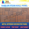 fireproof pu exterior wall panel pattern for prefab home