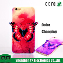 3d image color changing mobile phone case for iphone 6 plus
