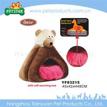 Handmade soft fabric kennel dog