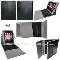 for new ipad case with bluetooth keyboard & swivel rotating