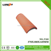 chinese outdoor replacing natural color clay roof tiles