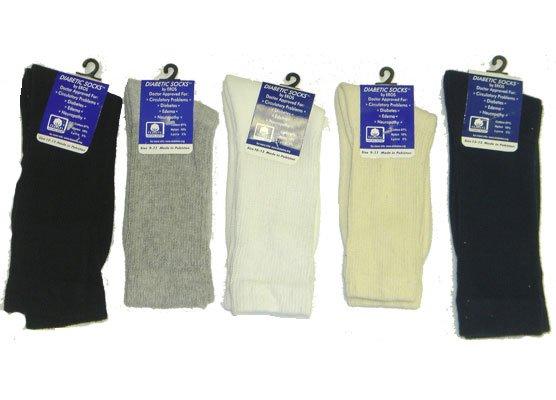 Knitting Pattern For Diabetic Socks : Wholesale Knit Crew Diabetic Socks,Assorted Sizes - Buy ...