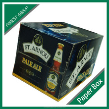 FULL COLOR PRINTED BEER PACKING GIFT CASE