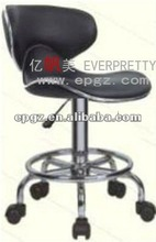Modern unique pu adjustable Bar stools with wheels