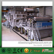paper recycling /rice straw/ bagasse/ bamboo pulp making A4 paper making machine for sale