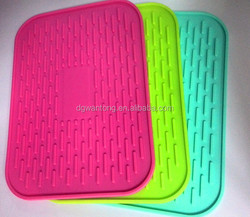High Quality silicone Dish Drying mat