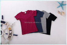 Novel style excellent quality causal kid t-shirt for 2-7 years