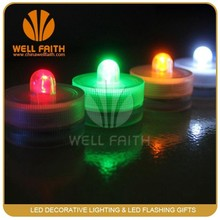 10pcs/lot Waterproof Submersible window LED Candle Light Flameless & Smokeless birthday for Wedding Party Floral Decoration