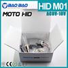 Free Laser Logo xenon hid kit h6 35w /55w 4300k 6000k 8000k 10000k Motor Hid Kit
