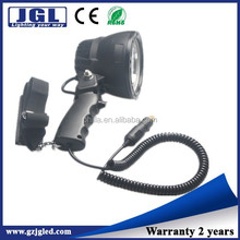 Aluminum headlamp 25w portable spotlight electric flashlight