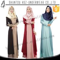 MD021 Wholesale kurung moden design baju kurung moden muslim long dress plus size design baju kurung moden