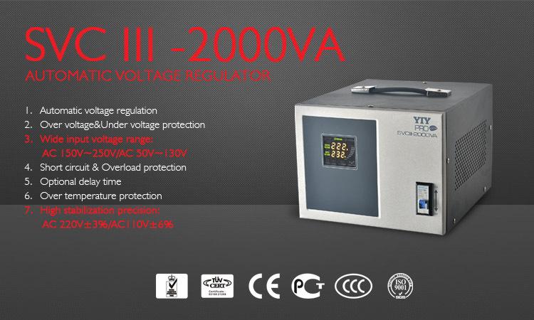 Single Phase Ac Automatic Voltage Stabilizer 5000va Whole House ...