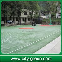 artificial grass gym floor for basketball flooring