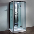 Beleza New vidro computadorizada independente vapor chuveiro do banheiro