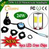 Super bright A4 22w 25w 30w motorcycle led headlight