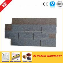 3-tab asphalt shingles blue