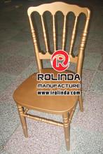 Dark golden high grade Napoleon chair hot sale