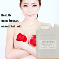100% plant extract healthy hot open breast dredge compound essential oil OEM