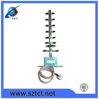 uhf/vhf high gain 12db 4g yagi antenna
