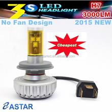 H7 base 5 color no fan 3S cheap conversion kits