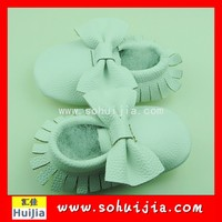 2015 cheapest cute wholesale European style funny bow spanish merino baby shoes