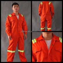 New design red workwear flame retardant /antistatic overcoat