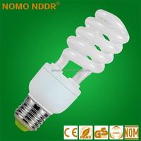 E27 B22 220V 18W CFL Half Spiral Energy Saving lamp Lighting bulbs