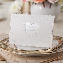 Good value for the money high end wedding festival wedding card