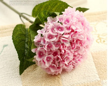 Cheap artificial hydrangea flower for decoration