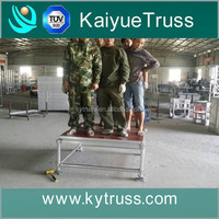 led stage light dance floor, aluminum stage truss, stage for sale