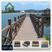 150mm*25mm China free sample wpc wood plastic composite outdoor wpc decking board with great price