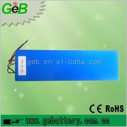 GEB 36V 15Ah Rechargebale Lifepo4 Electric Vehicle Battery Pack with BMS with trade assurance