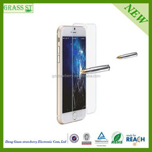 0.2mm 0.33mm 2.5D 9H Anti Shock mobile phone accessory best selling glass film for iphone 6