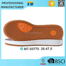 Bottom Price Tear Resistant Flat Lady Rubber Shoe Outsoles Shoes Material