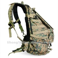hot sell 1680D waterproof military solar backpack