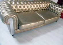 crocodile leather sofa, leather chesterfield sofa white color, 1 2 3 leather sofa F830#
