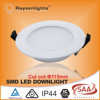 Factory price high quality saa ctick ce rohs ic rated led downlight trim ring