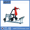 commercial sports exercise equipments plate loaded hack squat machine gym AX8913