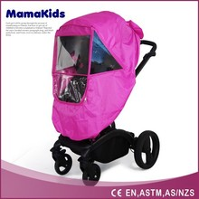 Environmental PVC rain cover for baby strollers pushchairs