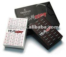 customized carton playing cards