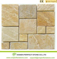 Low Price Slate Stone Good Outdoor Decorate Tile Slab
