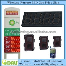 Digit design 12 inch gas price electronic changer digital led sign