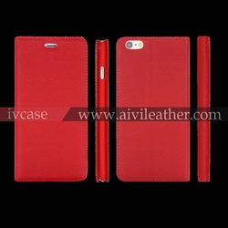 China supplier mobile covers for iphone 6 leather case genuine leather phone case
