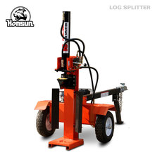 Germany Hanover exhibited logging equipment splitting table China supplier automatic 18T hydraulic wood splitter