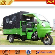 2015 hot sale closed cabin tricycle/200cc water-cooling passenger tricycle/motorized 3 wheel car
